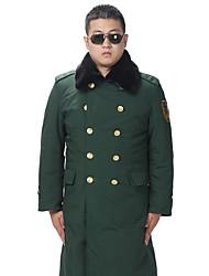 Wandern Softshell Jacken Herrn Atmungsaktiv / warm halten / Windundurchlässig / tragbar Winter Baumwolle Armeegrün M / L / XL / XXL / XXXL