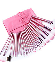 22 Blush Brush / Eyeshadow Brush / Brow Brush / Eyeliner Brush Professional / Travel / Full Coverage Wood