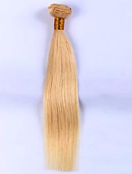 10-24inch 1piece/lot Human Hair Weaves #613 Straight Human Hair Weaves Indian Virgin Hair Extension