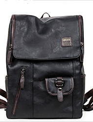 Men PU Casual / Outdoor School Bag