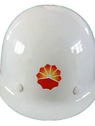capacete novo ligas de aço de material (branco)