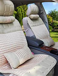 Rivet Danny Leather Ice Silk Car Cushion