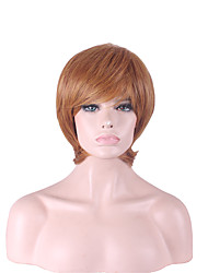 harajuku lino pelucas pelo peluca naturales peruca mujeres pelucas sintéticas pelucas cortas Pelucas Sintéticas