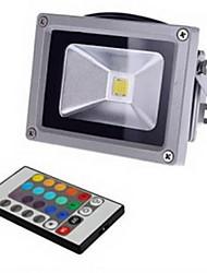 Ferngesteuert LED Flutlichter 10W 900 LM K 1 Integriertes LED RGB DC 12 / AC 12 V
