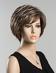 Short Natural Wave Human Hair Wig For Women