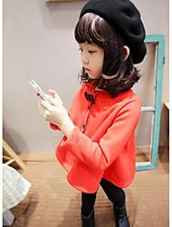 Mädchen Hose-Lässig/Alltäglich einfarbig Baumwolle Winter Schwarz / Rot