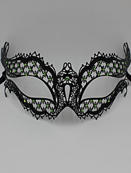 Luxury Rhine stone laser cutting Venice Carnival Party Mask3004C1