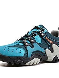 Homme-Décontracté-Bleu Marron Gris Orange Kaki-Talon Plat-Confort-Chaussures d'Athlétisme-Daim