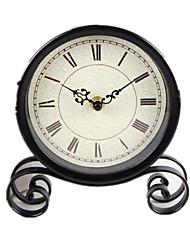 Retro Round Small Clock