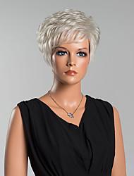 Fashion Short Natural Wave Capless Wigs High Quality Human Hair