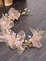 Women's Tulle / Alloy / Imitation Pearl Headpiece-Wedding / Special Occasion / Casual / Outdoor Headbands 1 Piece