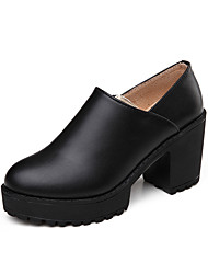 Women's Boots Spring / Fall Comfort PU Casual Low Heel Others Black / Brown / Burgundy Others