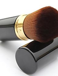 1 Pincel para Blush Fibra Sintética Portátil / Profissional Metal Rosto Outros