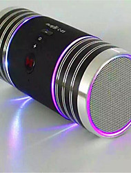 C-85A Aluminum Alloy Bluetooth Speaker High Quality U Disk Car Audio