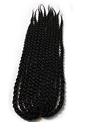New 3D Crochet Cubic Twist crochet Braid 6 pcs havana twist kanekalon braiding hair extension 22 inch 6-8 make full head
