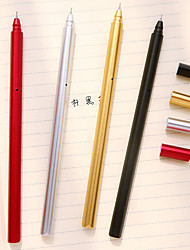Metal Color Plating Gel Pen Set(10 PCS)