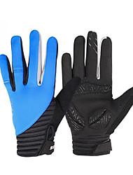 Перчатки Спортивные перчатки Муж. Перчатки для велосипедистов Весна / Осень / Зима ВелоперчаткиСохраняет тепло / Анти-скольжение /
