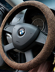 Linen Stitching Four Seasons General Motors Steering Wheel Cover