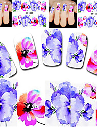 Beauty Cartoon Design Manicure Tools Nail Art Stickers  Free Shipping XF1405