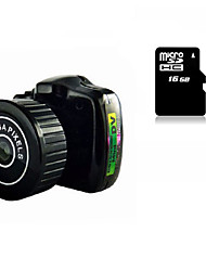 Other Plastica Mini Camcorder Microfono Nero 1.4