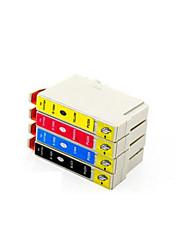 cartucho de impresora (4 color de la venta paquete de 15 ml 13,5 ml negro rojo azul amarillo 13,5 ml 13,5 ml)