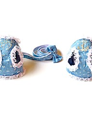 Chat / Chien Colliers / Harnais / Laisses Cosplay / Sécurité / Doux / Course / Veste / Pour tous les jours Nœud papillon Bleu Tissu