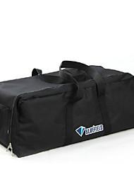 Unisex Travel Bag Oxford Cloth All Seasons Zipper Black