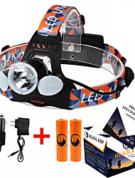 U`King ZQ-X851 XML T6 Headlamp  LED 4 Mode 6000ML Lumens Adjustable Focus/ High Power