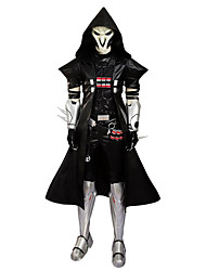 Cosplay Costumes Masquerade Party Costume Super Heroes Soldier/Warrior Skeleton/Skull Movie Cosplay Top Pants Belt Shoes More Accessories