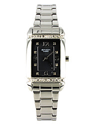 CASIO Square Style Quartz Women's Watches with DiamondFashion Business White-collar SHN-4016D-1A
