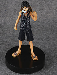 One Piece Monkey D. Luffy PVC 15*14*23cm Аниме Фигурки Модель игрушки игрушки куклы