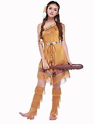 Cosplay Kostüme / Party Kostüme Primitiv Fest/Feiertage Halloween Kostüme Fuchsie einfarbig Rock / Kleid / GürtelHalloween / Karneval /