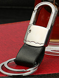 Men 'S Leather Waist Hanging Key Chain Simple Key Chain Car Key Ring