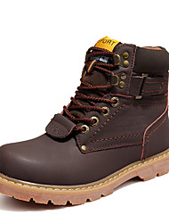 Men's Boots Fall / Winter Others Cowhide Casual Lace-up Black / Brown / Khaki Others