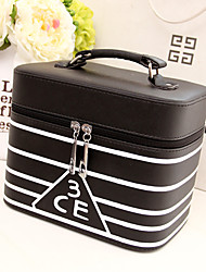 Women Other Leather Type / Special Material Professioanl Use Cosmetic Bag