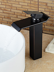 Bathroom Sink Faucet with Single Handle ORB Shaped