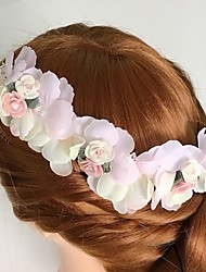 Women's Alloy / Acrylic / Fabric Headpiece-Wedding / Special Occasion / Casual Flowers 1 Piece