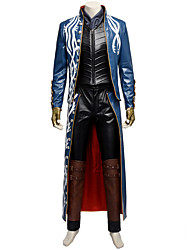 New Arrival Game Character Devil May Cry 3 Vergil Cosplay Costume