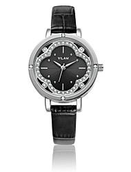 VILAM® Women's Fashion watches Quartz-Watch Flowers Diamond Crystal quartz wrist watches  Designer Watch V1013L