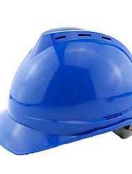 clássico capacete de PEAD em forma de v