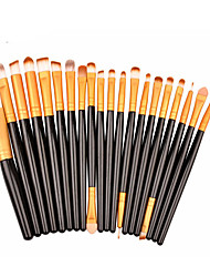 20Contour Brush / Makeup Brushes Set / Blush Brush / Eyeshadow Brush / Lip Brush / Brow Brush / Eyeliner Brush / Liquid Eyeliner Brush /