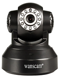 WANSCAM 1.0 MP PTZ IndoorDay Night Motion Detection Dual Stream Remote Access Plug and play Wi-Fi Protected Setup)