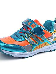 Mädchen-Sneaker-Lässig-Tüll-Flacher Absatz-Komfort-Blau Rosa Orange