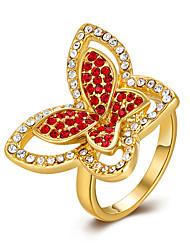 Anéis Fashion / Caixas de presente e Bolsas / Estilo / Sexy Halloween / Casamento / Pesta / Diário Jóias Chapeado Dourado FemininoAnéis