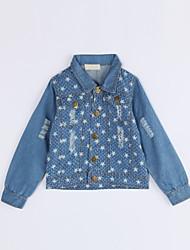 Costume & Blazer Fille Décontracté / Quotidien Galaxie Coton Automne Manches longues