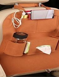 siège de voiture sac de rangement retour retour chaise sac sentait voiture multifonctionnel sac de rangement voiture poussière pendaison