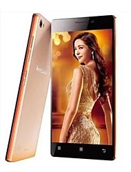 "Lenovo x2-to 5.0 "" Android 4.4 4G Smartphone (Dual SIM Quad Core 13 MP 2GB + 16 GB Gold / Red)"