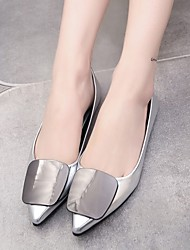 Women's Flats Spring Summer Fall Comfort PU Casual Flat Heel Others Silver Gold Others