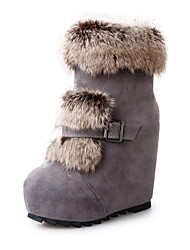 Women's Boots Fall / Winter Snow Boots /  Gladiator / Comfort / Novelty LeatheretteOutdoor /