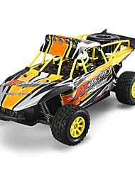 Carroça WLToys K929-B 1:18 Electrico Escovado RC Car 2.4G Laranja Pronto a usar